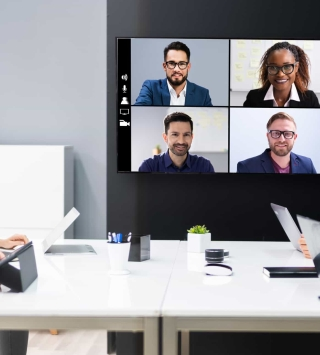 Team-Meeting via Videocall