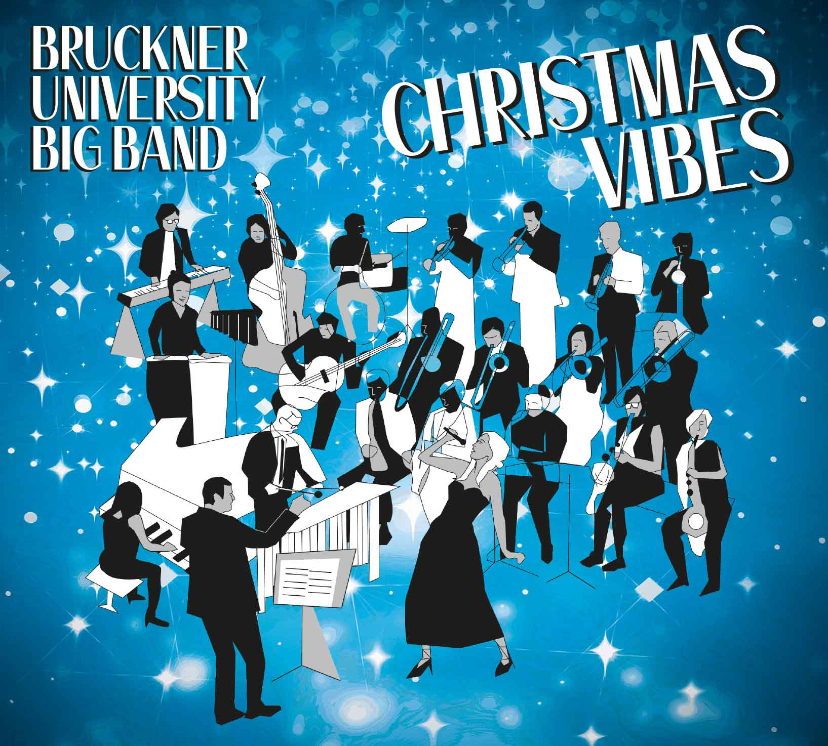 CD Bruckner University Big Band Christmas Vibes
